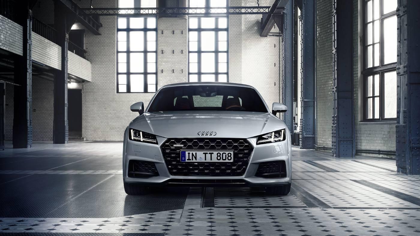 Nouvelle Audi TT Face avant