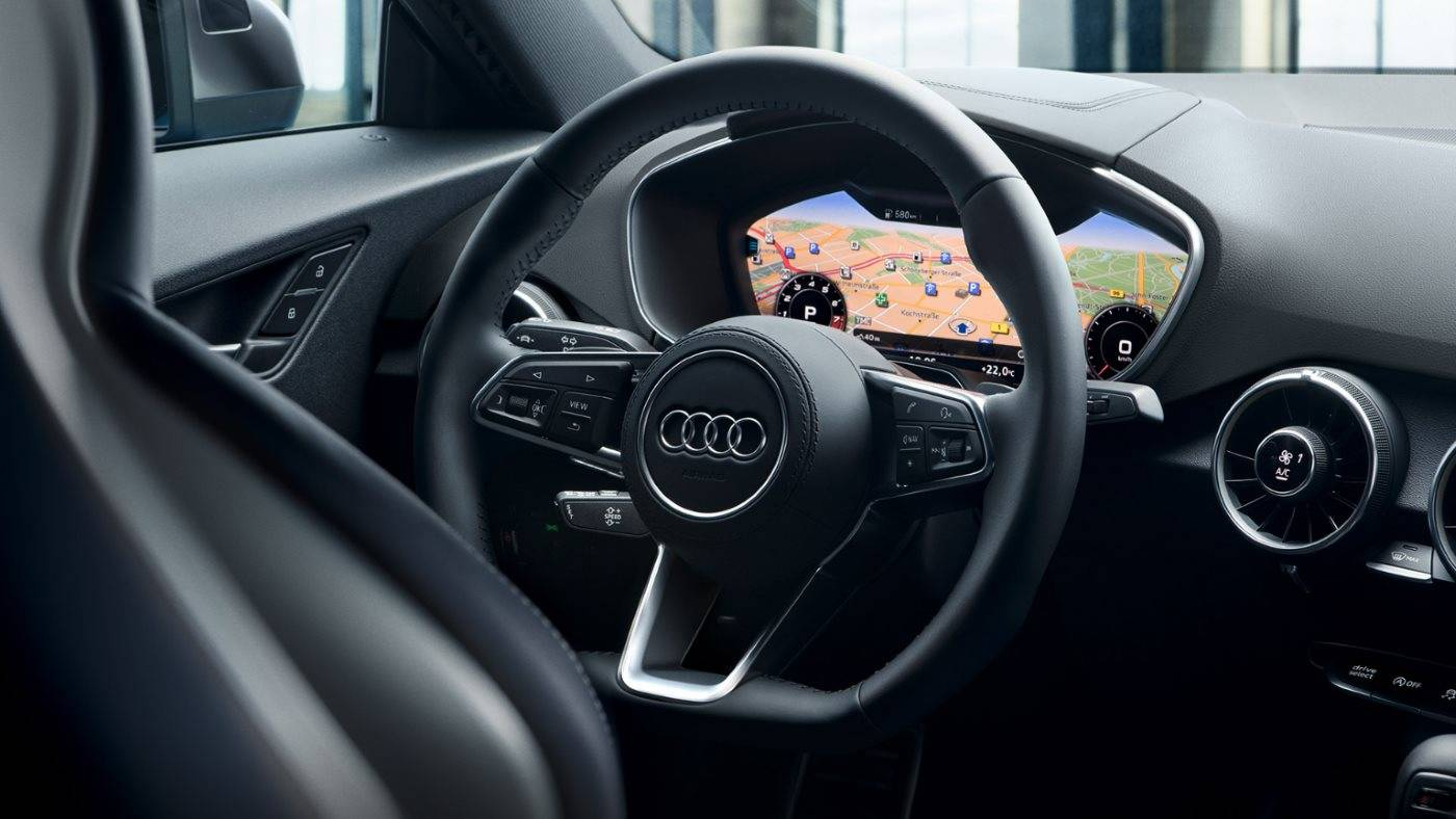 Nouvelle Audi TT Virtual cockpit