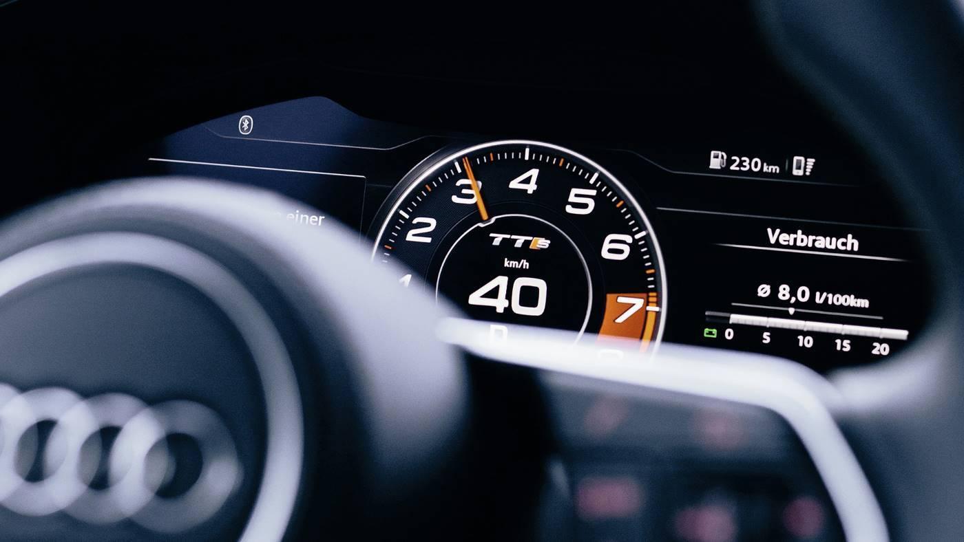 Nouvelle Audi TTS Virtual cockpit