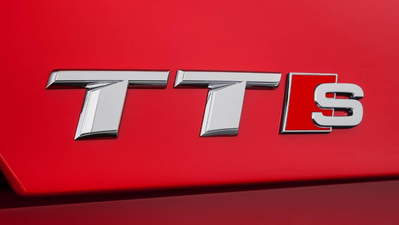 Nouvelle Audi TTS logo