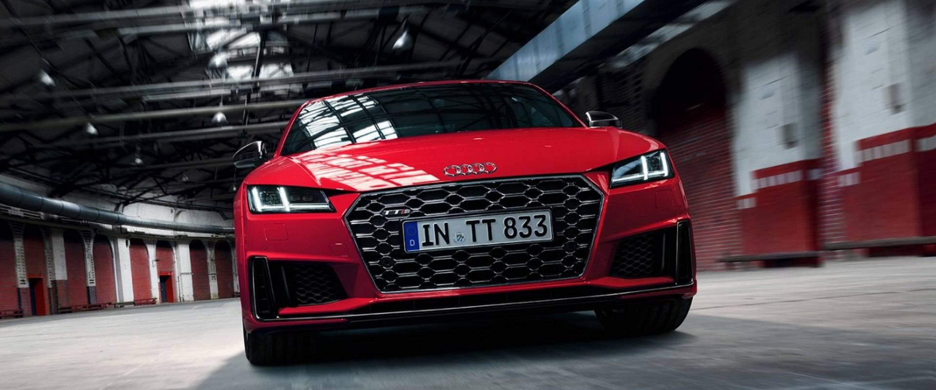 Nouvelle Audi TTS 1