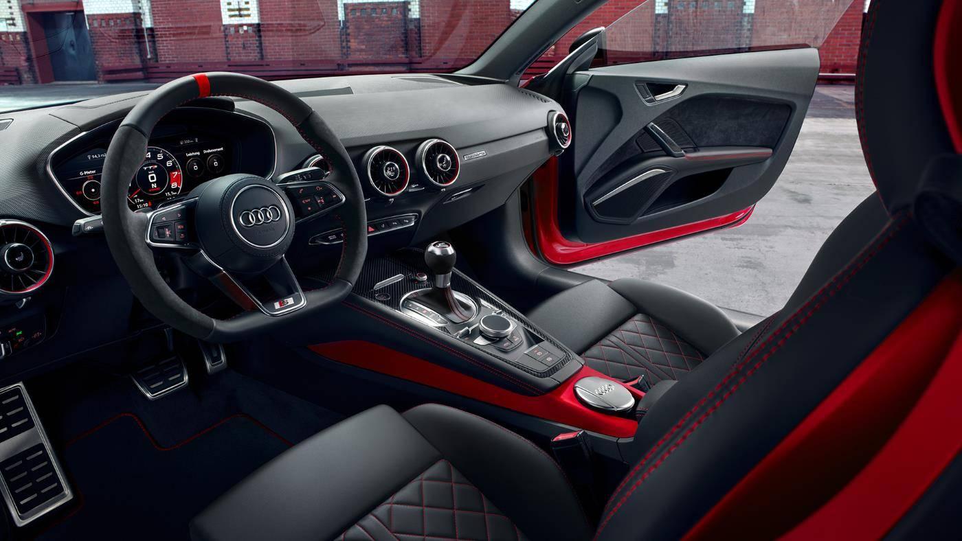 Nouvelle Audi TTS Intérieur Competition