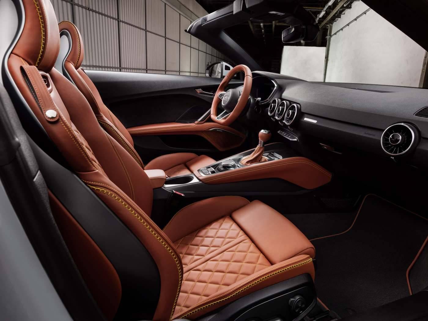 Audi TT 20 ans - passager