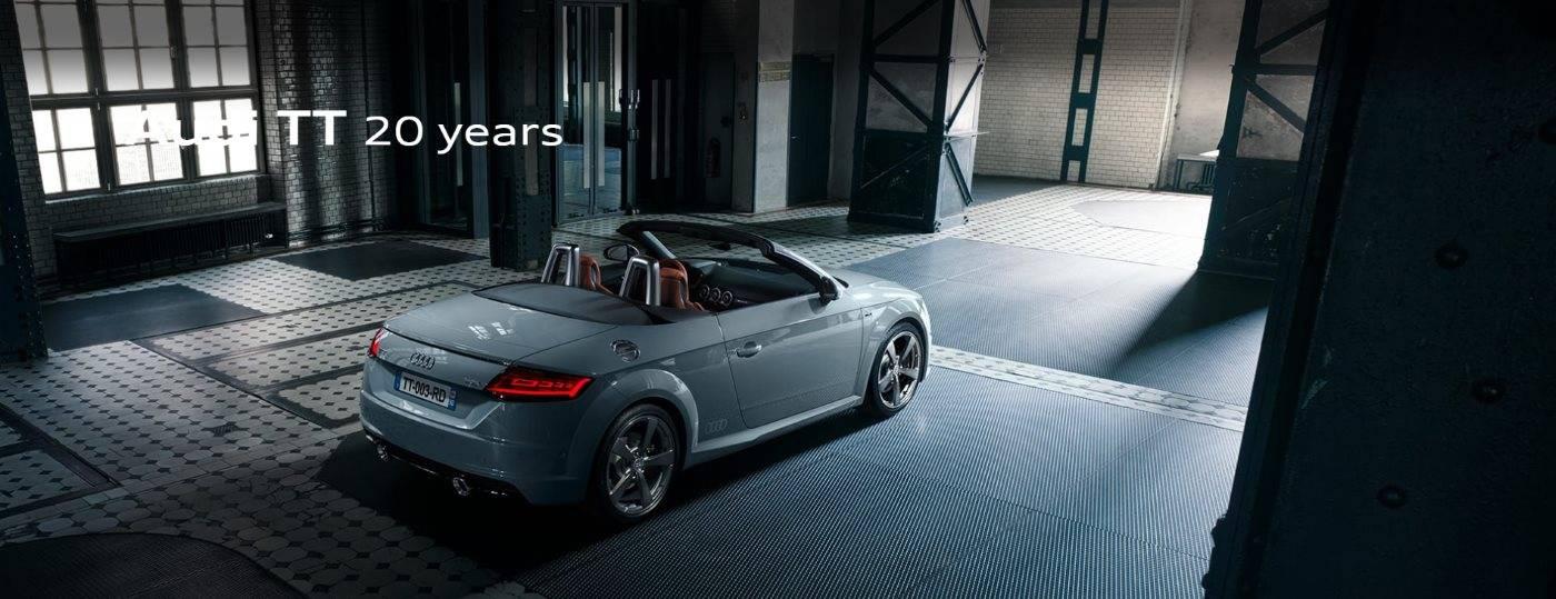 Audi TT 20 years header 1
