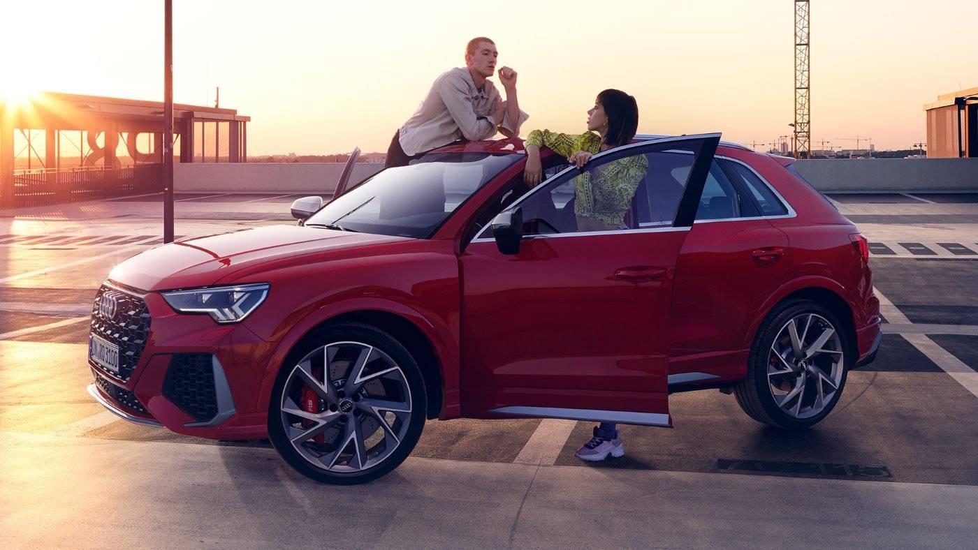 Nouvelle Audi RSQ3 2020 profil 1400