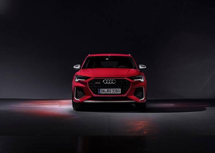 Nouvelle Audi RSQ3 2020 avant rouge