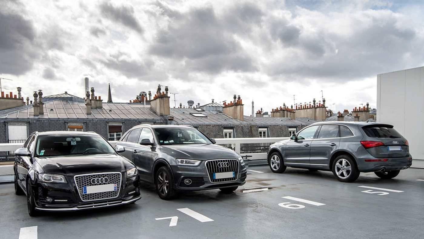 Audi Bauer Paris Wagram > Sur la terrasse au 6eme