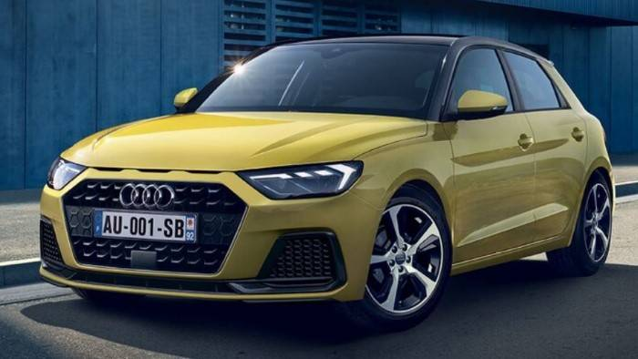 Audi A1 Advanced jaune