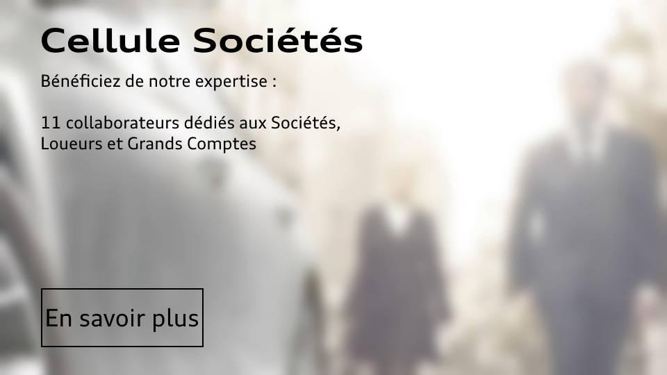 Cellule Société Audi Paris - Grand Comptes