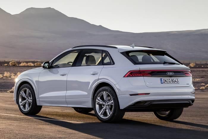 arrière Nouvelle Audi Q8 2018