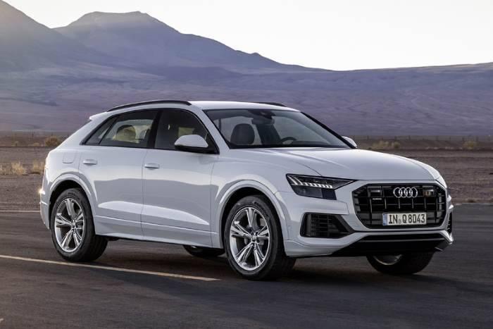 profil Nouvelle Audi Q8 2018