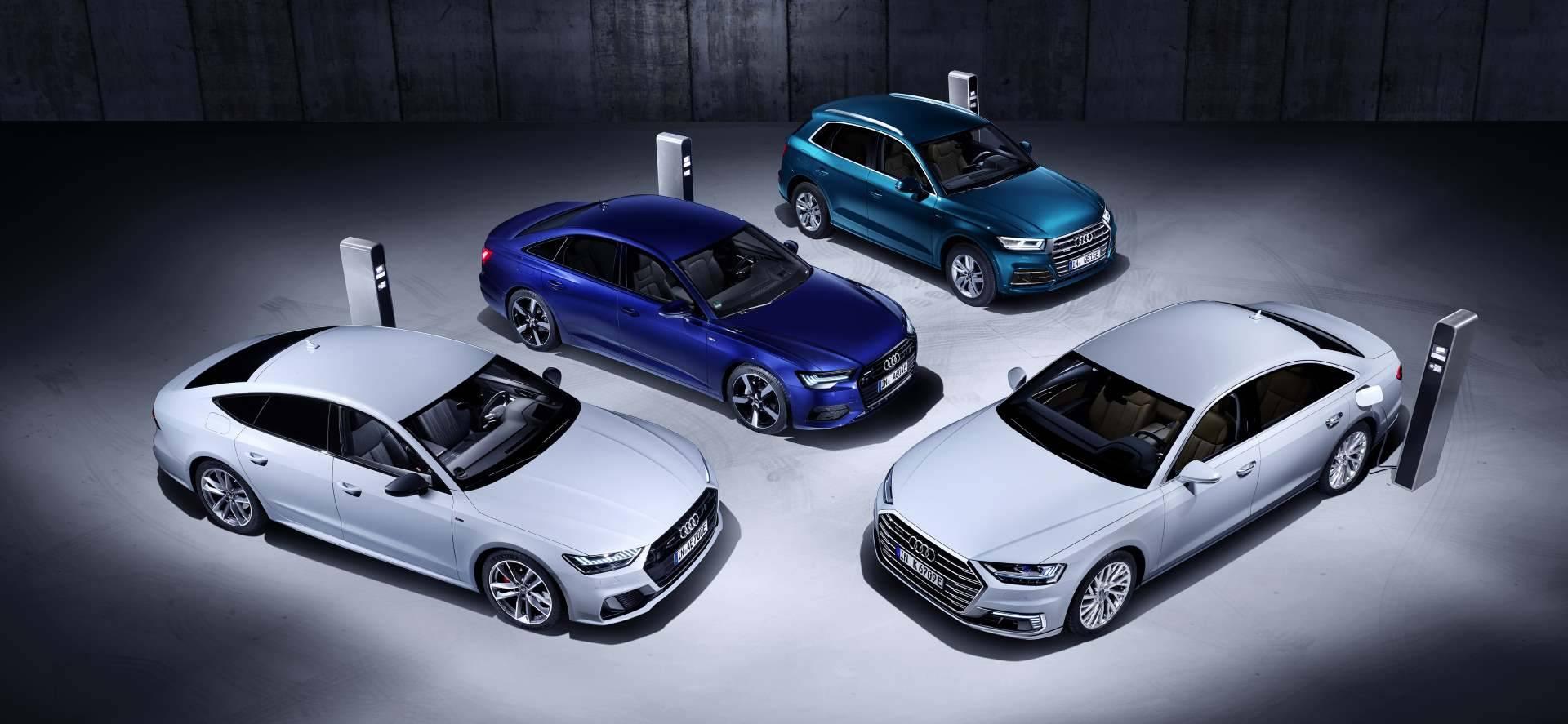 Gamme électrique Audi 2019 TFSIe : A6 - A7 - Q5