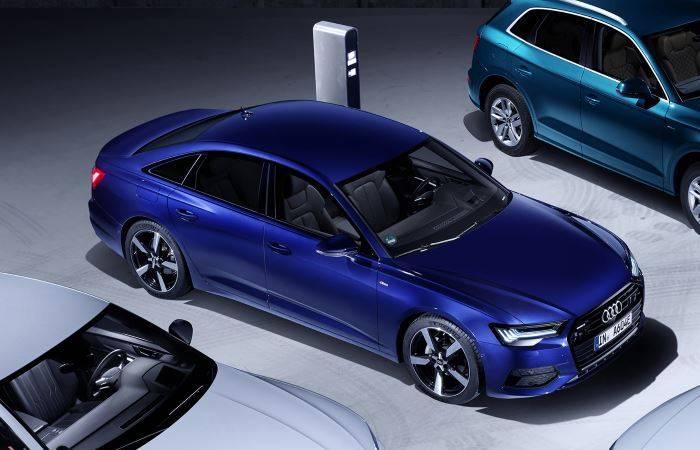 Audi A6 TFSIe hybride electrique essence
