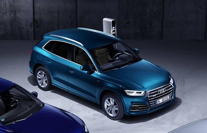 Audi Q5 TFSIe hybride electrique essence