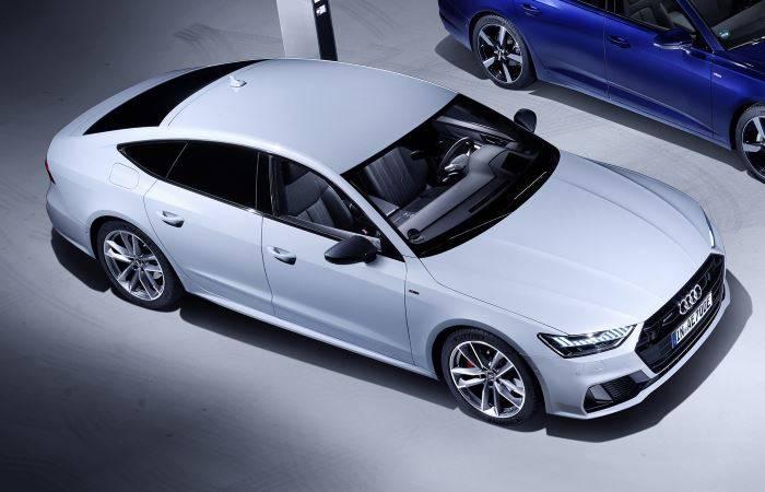 Audi A7 TFSIe hybride electrique essence