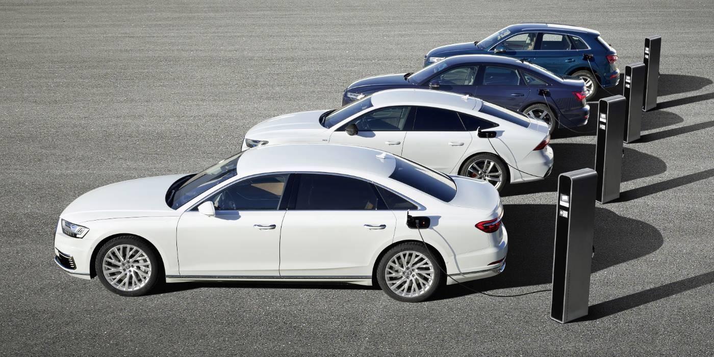 Audi hybrid rechargeable A6 A7 Q5 A8 Sport TFSIe