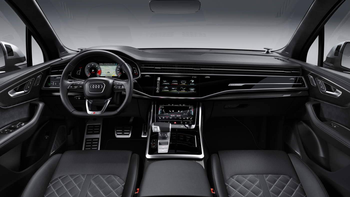 Nouvelle Audi SQ7 TDI 2019-2020 intérieur noir