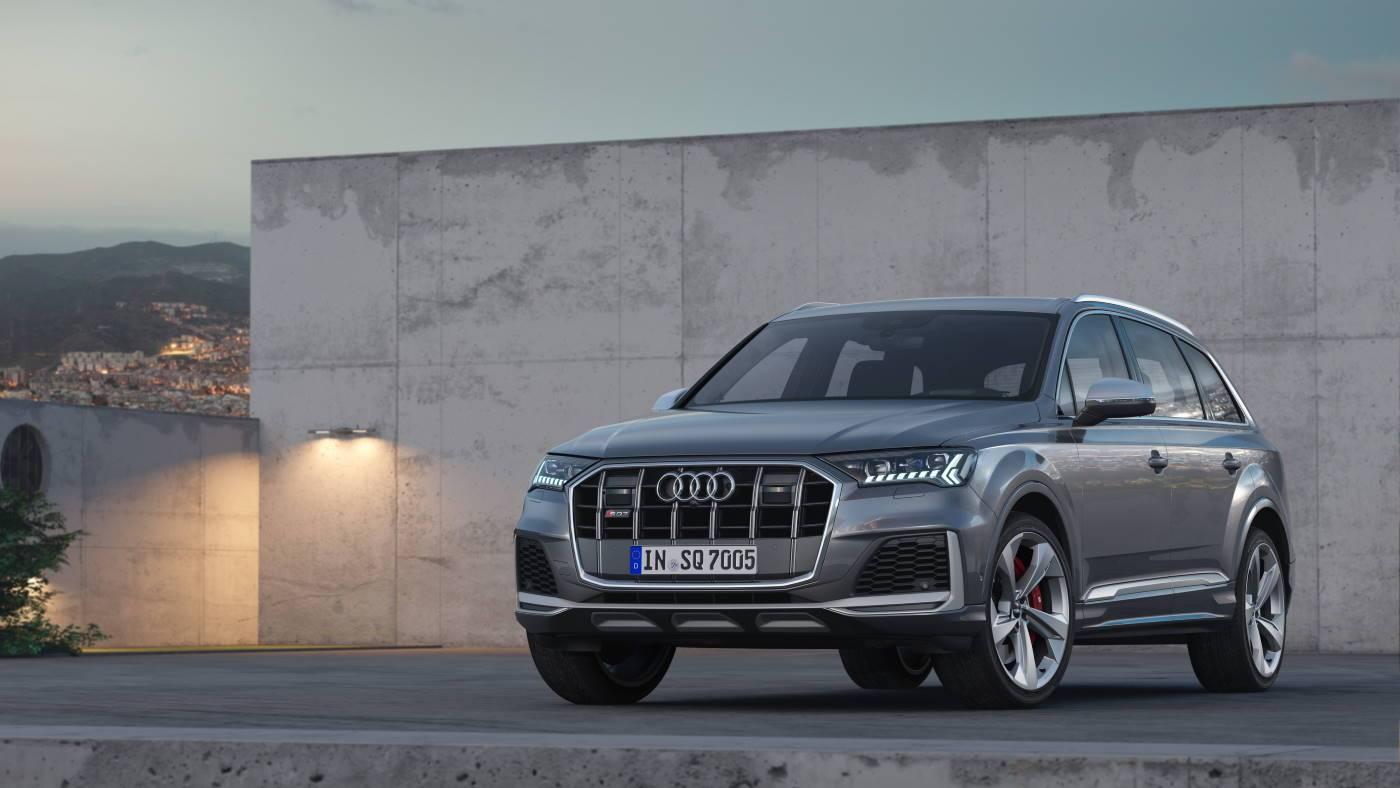 Nouvelle Audi SQ7 TDI 2019-2020 3/4 avant