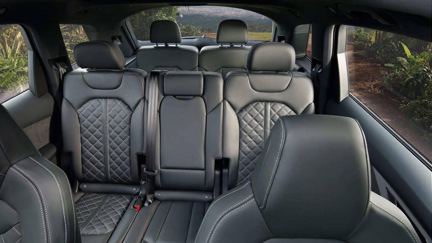 Nouvelle Audi SQ7 TDI 2019-2020 7 places banquette