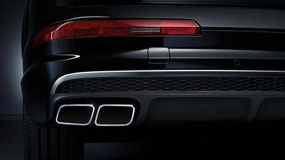 Nouvelle Audi SQ7 TDI 2019-2020 sortie échappement