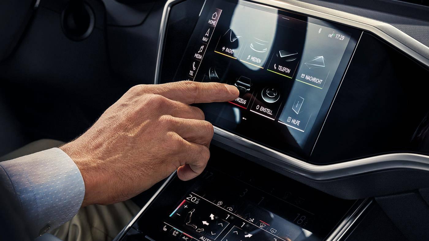 Audi ecran tactile clim radio media