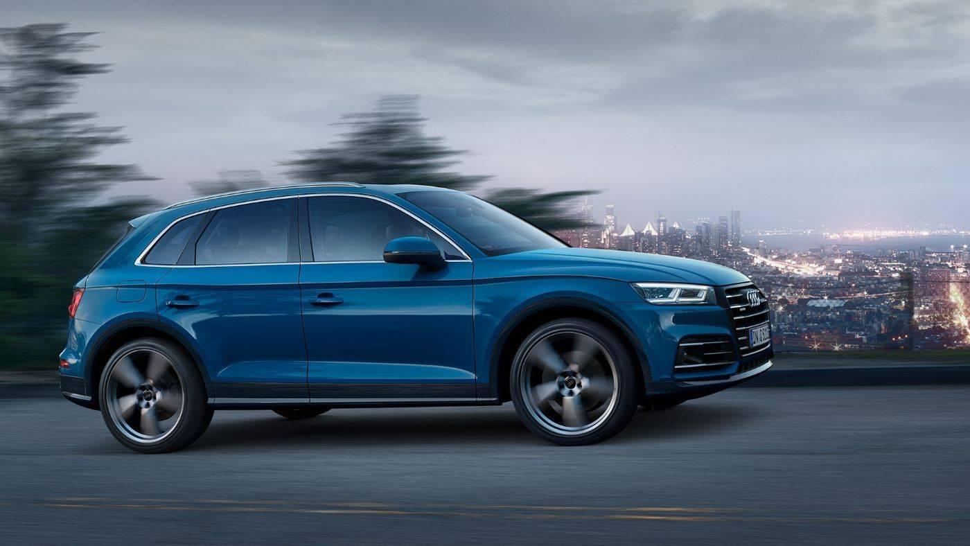 Audi Q5 TFSI e hybride rechargeable profil
