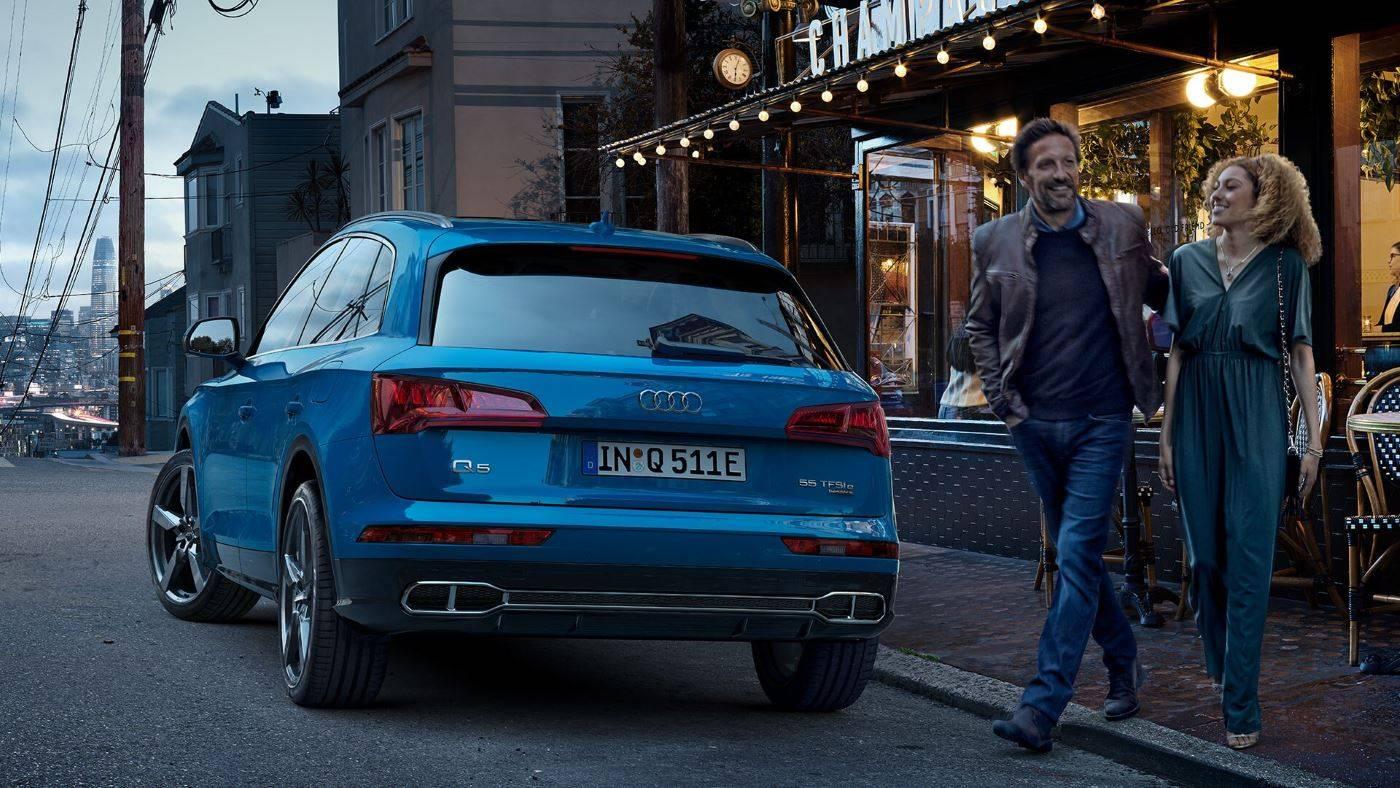 Audi Q5 TFSI e hybride rechargeable arrière