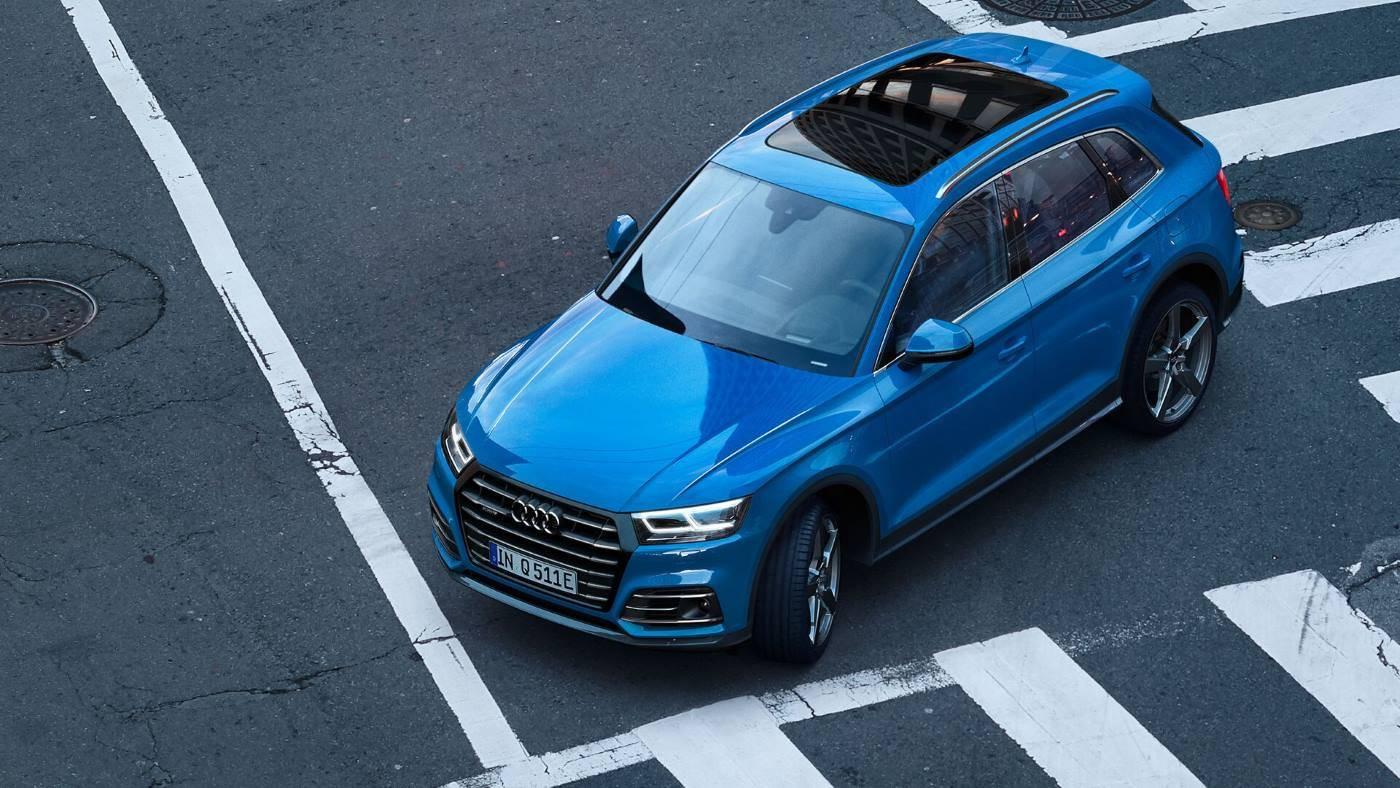 Audi Q5 TFSI e hybride rechargeable 3/4 avant