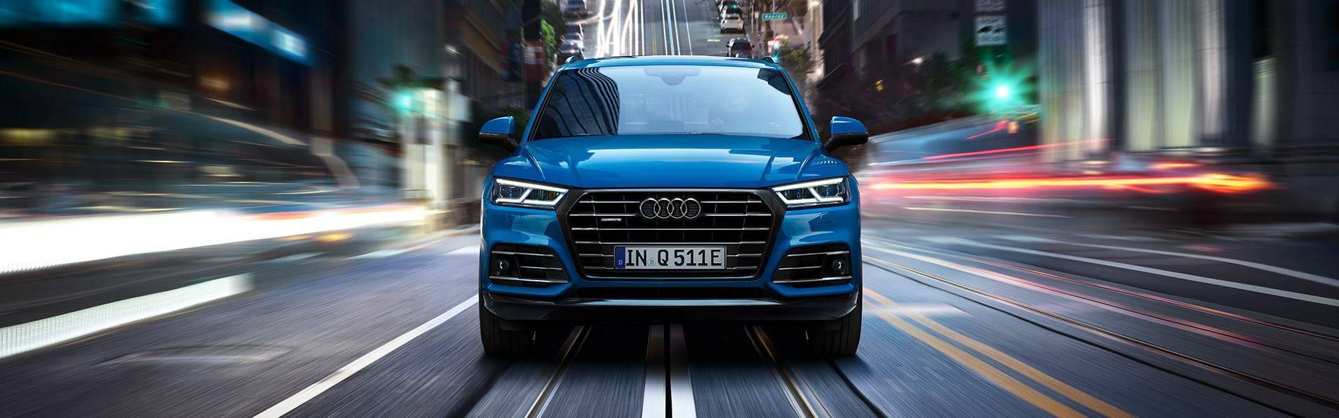 Audi Q5 TFSI e hybride rechargeable face avant