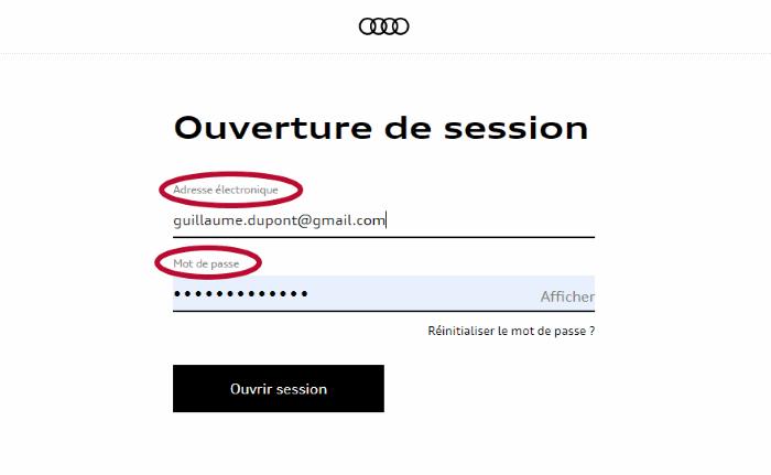 myAudi connexion - Tuto choix Partenaire Audi