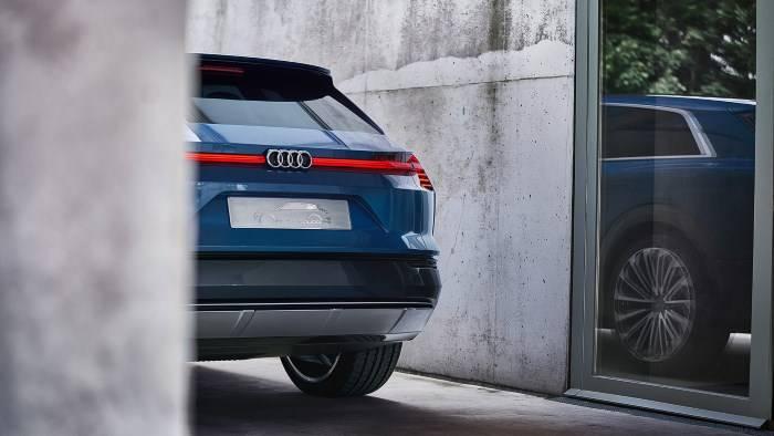 Audi e-tron quatrro concept 2018