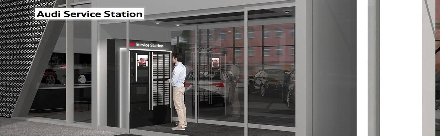 Audi Service Station : dépose Audi aéroport Roissy