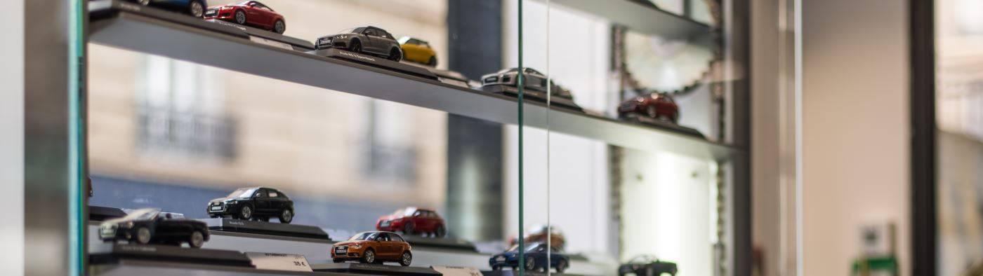 Audi Paris Wagram > Modèles réduits