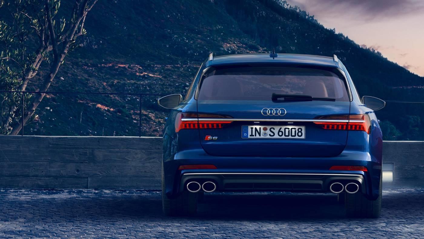 Nouvelle Audi S6 Avant 2020 dos