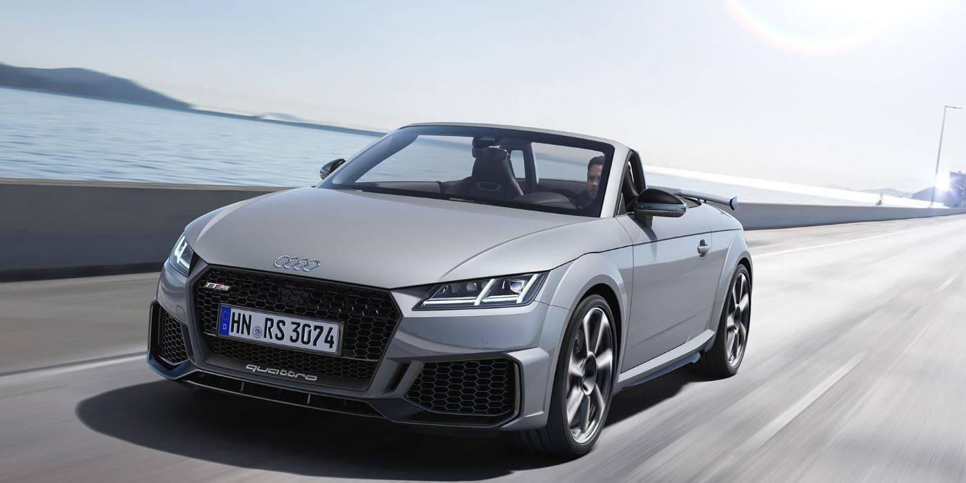 Audi TT RS Roadster 2019 avant