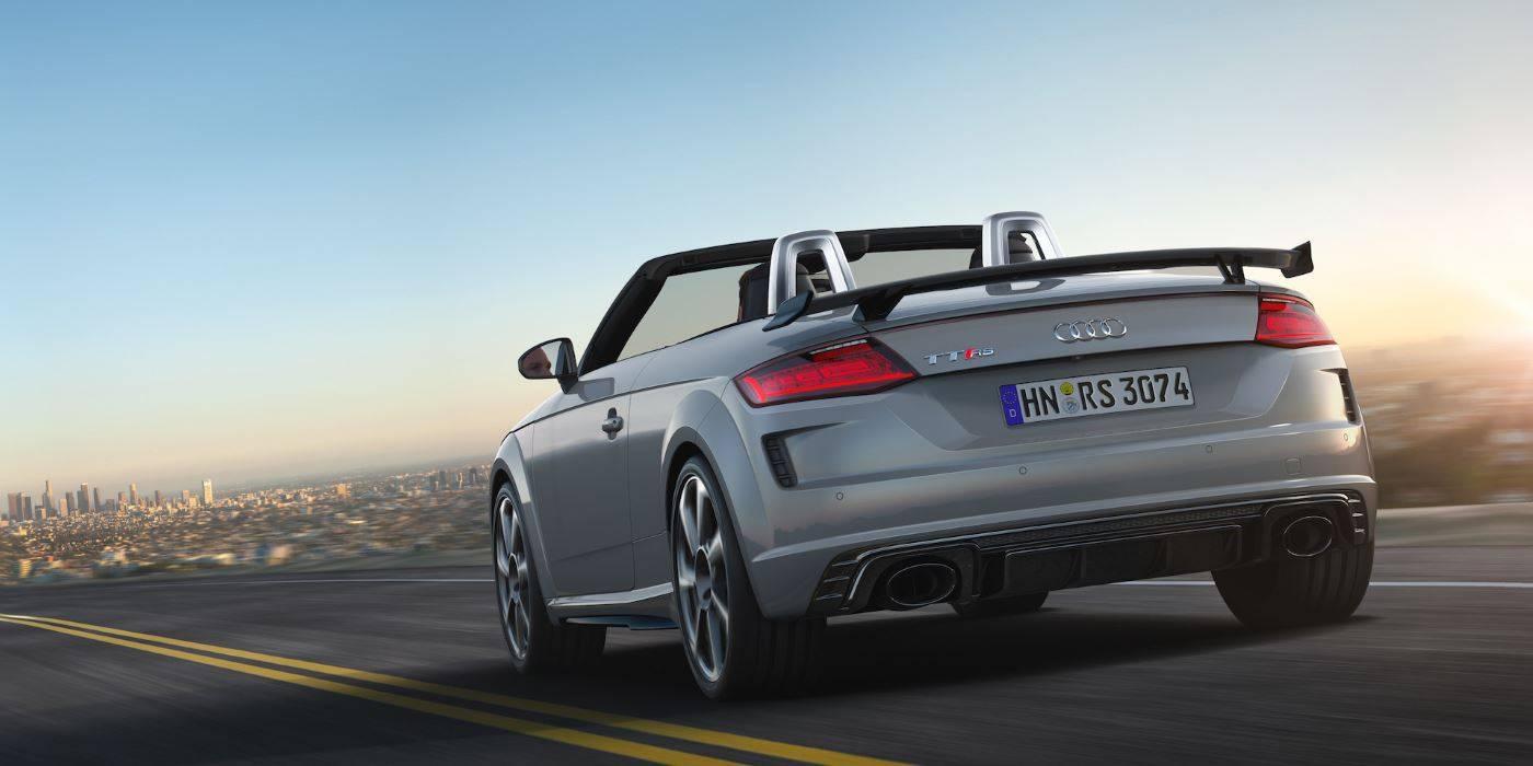 Audi TT RS Roadster 2019 3/4 arriere