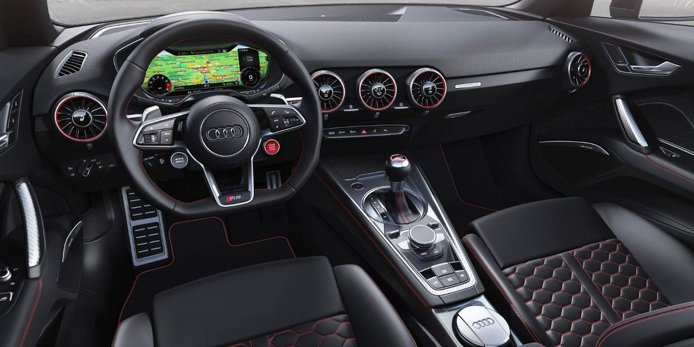 Audi TT RS roadster intérieur virtual cockpit 2019