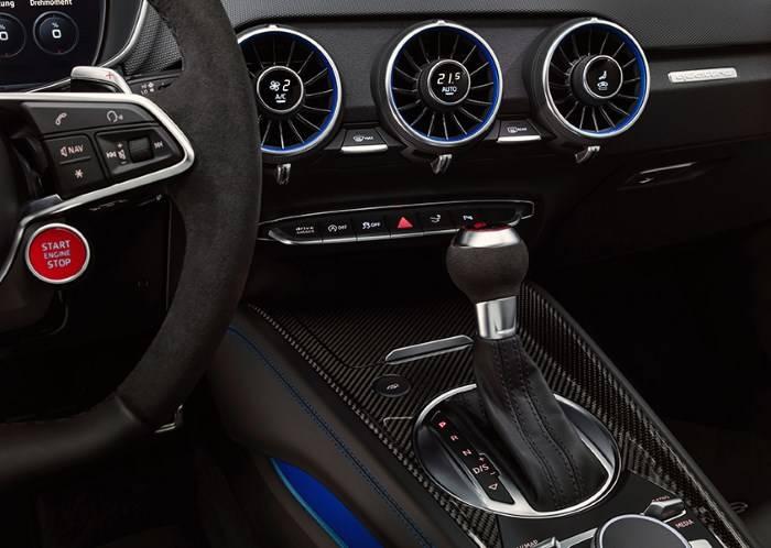 Audi TT RS 2019 intérieur volant planche de bord