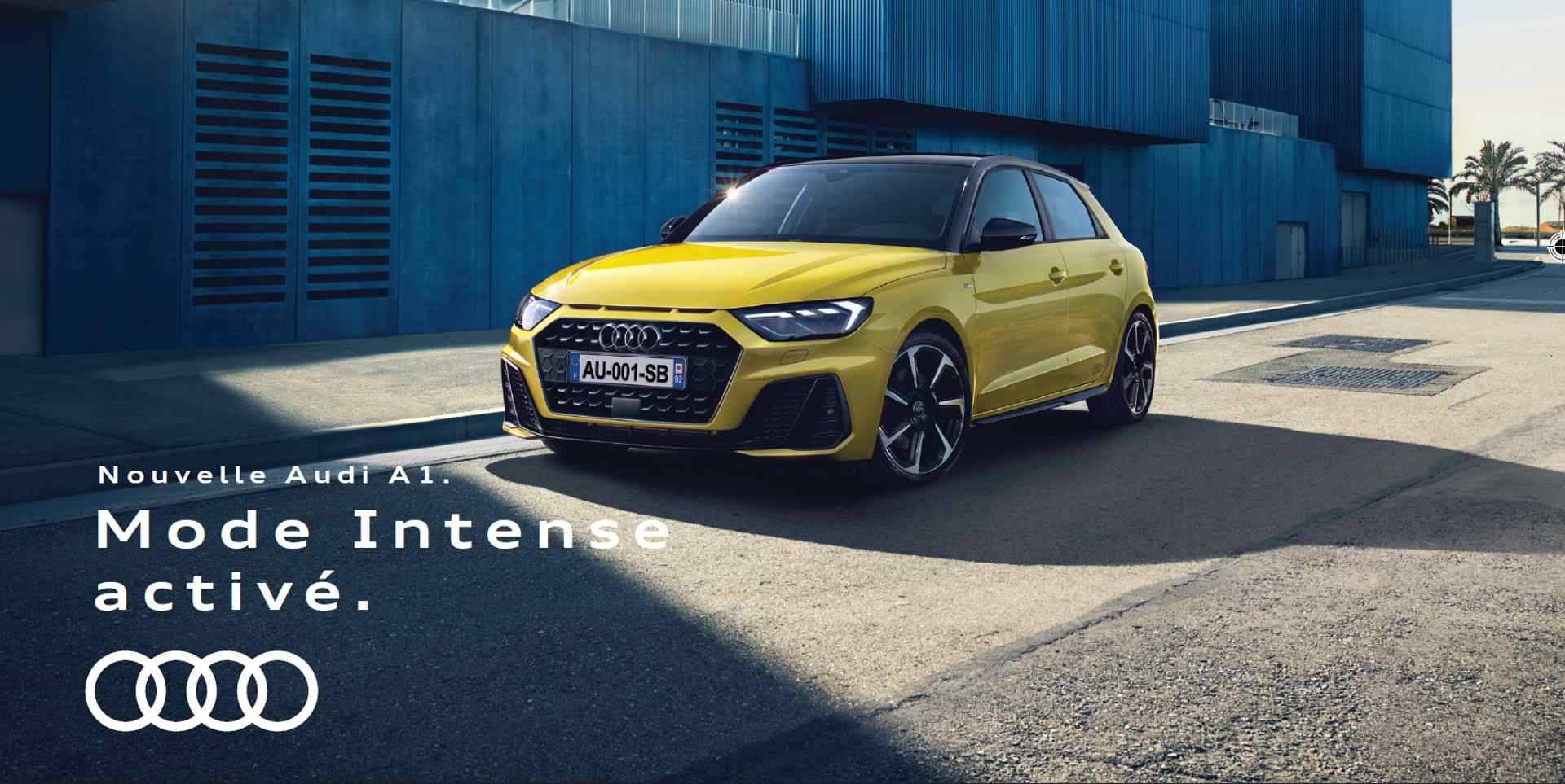 Offre Audi A1 Sportback Header article