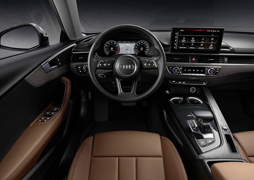 Nouvelle Audi A5 Sportback 2020 intérieur brun