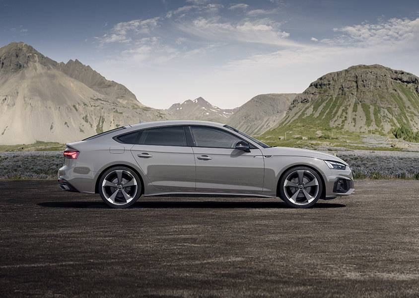 Nouvelle Audi A5 Sportback 2020 profil