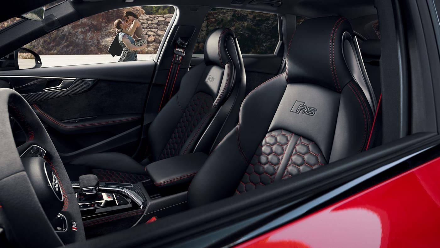 Nouvelle Audi RS4 Avant sport 2019 intérieur siège
