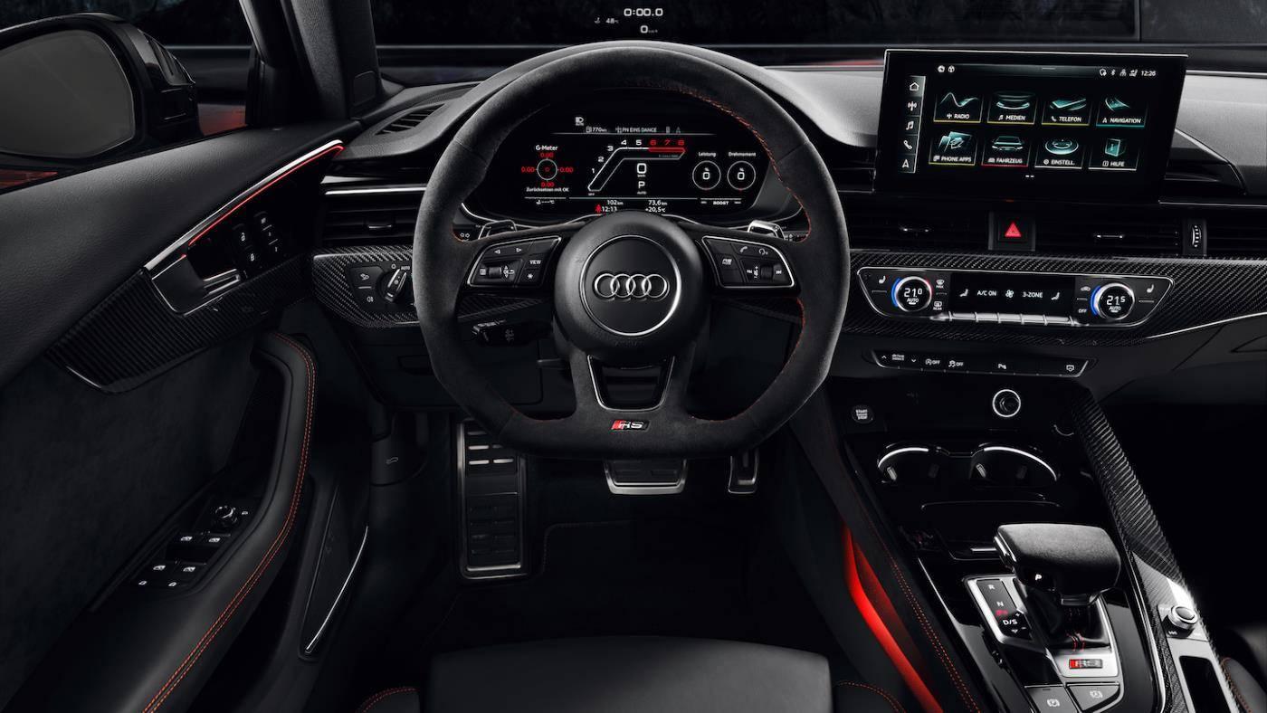 Nouvelle Audi RS4 Avant 2019 2020 intérieur sieges