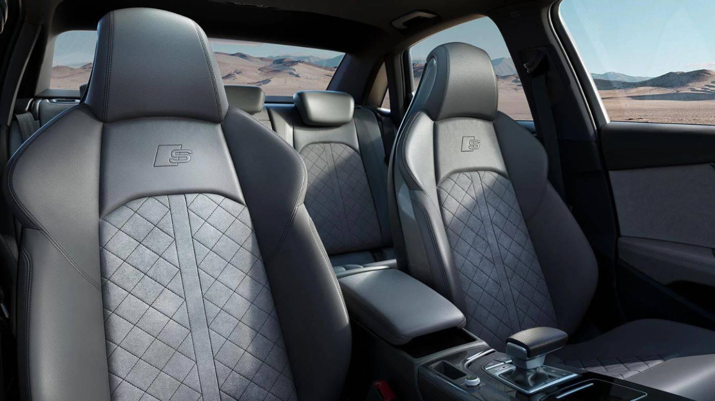 Nouvelle Audi S4 Berline 2020 intérieur sièges