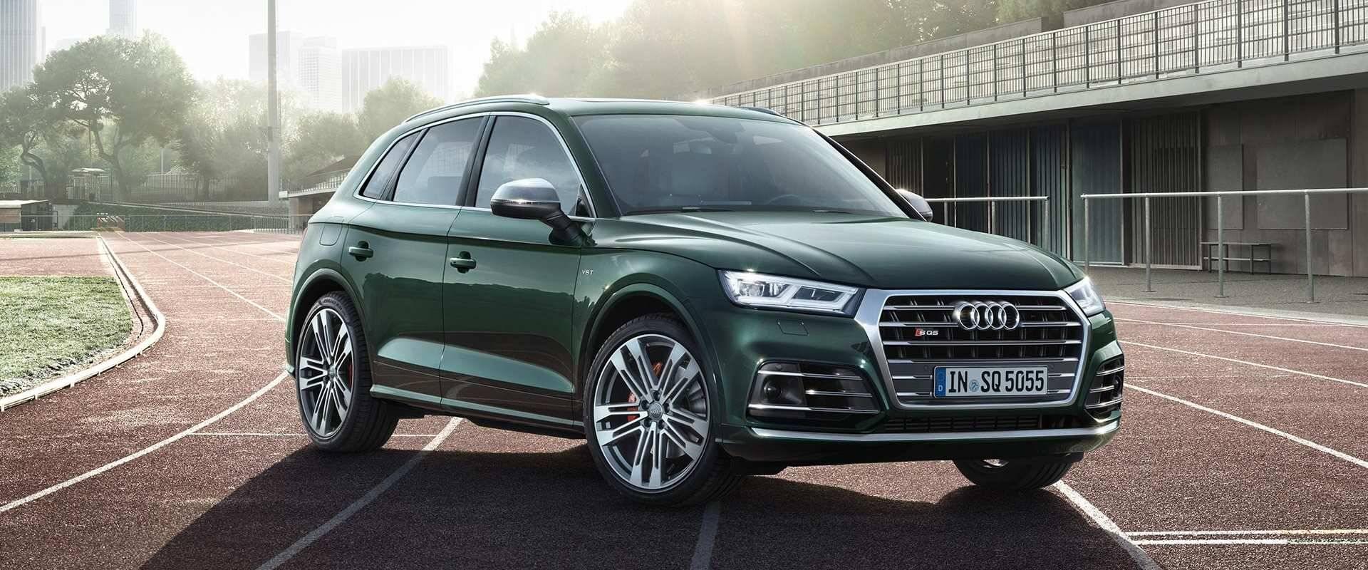 Nouvelle Audi SQ5 TDI 2019 profil