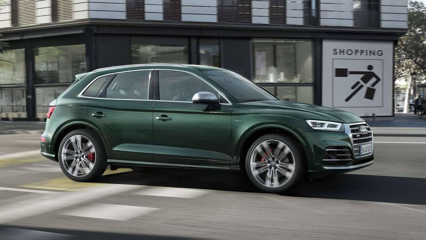 Nouvelle Audi SQ5 TDI Profil ville