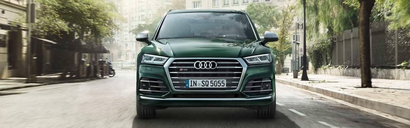 Nouvelle Audi SQ5 TDI face avant