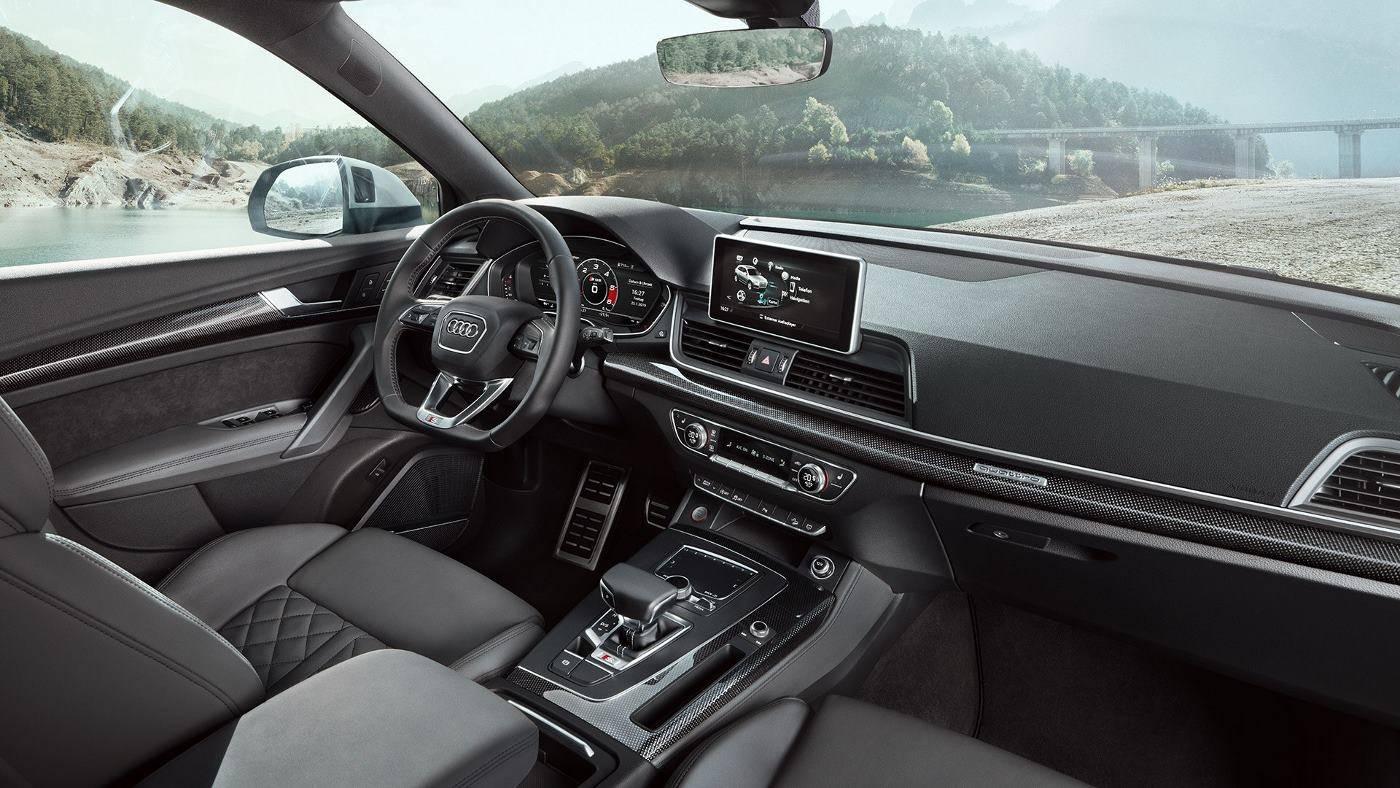 Nouvelle Audi SQ5 TDI Intérieur cockpit bord siège