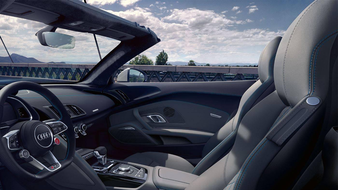Audi R8 Spyder V10 quattro intérieur sièges