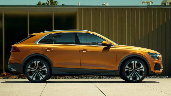 Audi Q8 2018 > Beau profil